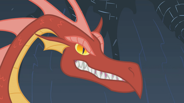File:Dragon growls at Rarity S01E07.png
