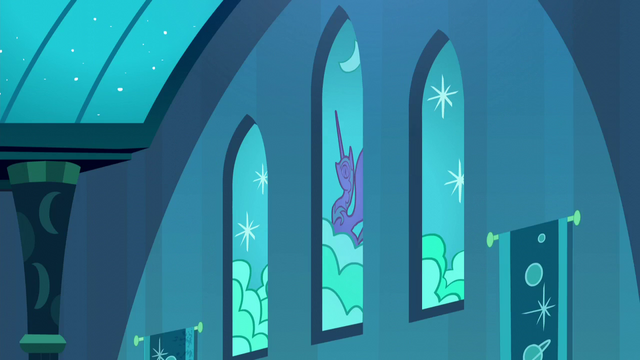 File:Nightmare Moon stained glass windows S5E26.png