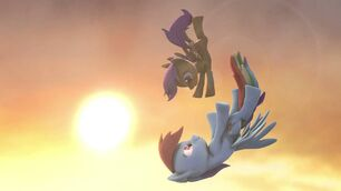 FANMADE Rainbow and Scootaloo SFM 3D