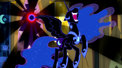 Nightmare Moon appears S5E13