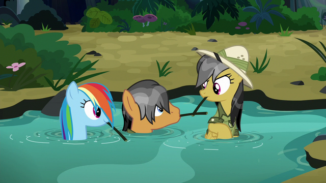 File:Rainbow, Quibble, and Daring emerge from the water S6E13.png