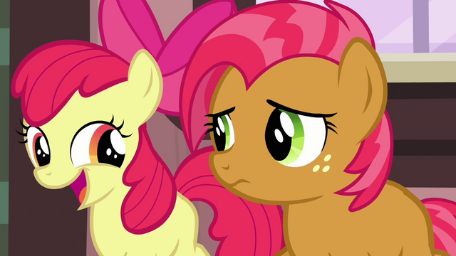 File:Apple Bloom 'And we've got a really big surprise' S3E04.png