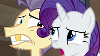 "Rarity ""you do not want to know!"" S6E3"