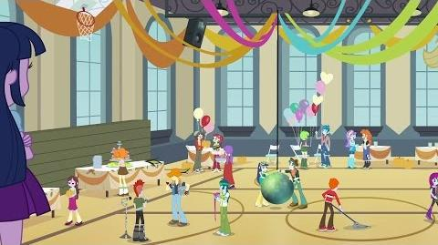 Romanian Equestria Girls Time To Come Together HD