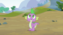 Spike cute expression S3E9