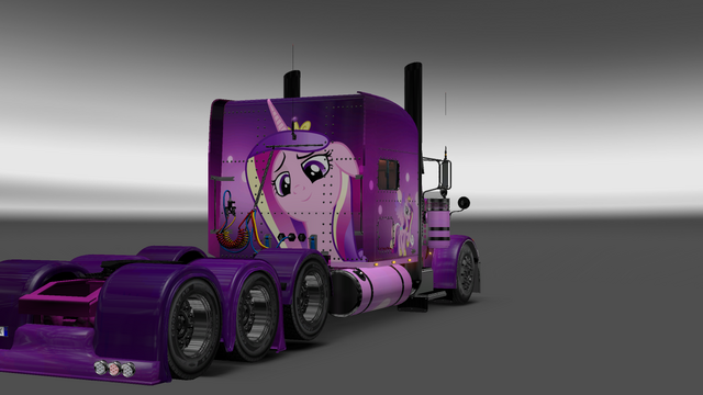 File:FANMADE ETS2 Pete 389 Custom - Princess Cadance Skin 9.png