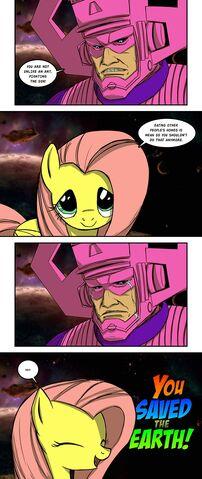 File:FANMADE Fluttershy defeats Galactus.jpg