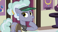 Jeweler Pony denies seeing the Cutie Map S7E2