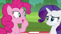 "Pinkie ""we always sing the Pie Sisters' Surprise Swap Day Song"" S6E3"