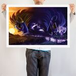 Shadow Wonders art print WeLoveFine