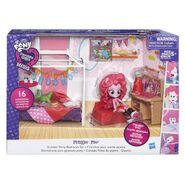 Equestria Girls Minis Pinkie Pie Bedroom set packaging