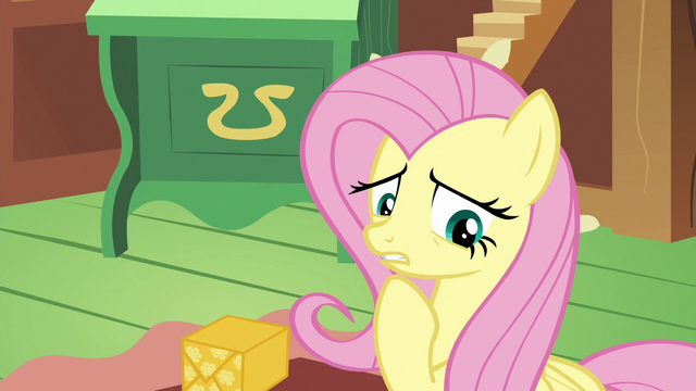 "File:Fluttershy ""I just found out"" S6E17.png"