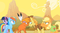 Little Strongheart and Braeburn Embarrassed S1E21