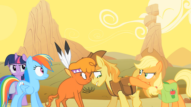 File:Little Strongheart and Braeburn Embarrassed S1E21.png