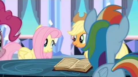 "MLP FiM ~ ""Balada dos Pôneis de Cristal"" ~ Ballad of the Crystal Ponies (Brazilian 720p)"