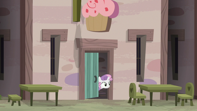 File:Sweetie Belle watches Sugar Belle and Scootaloo from bakery door S7E8.png