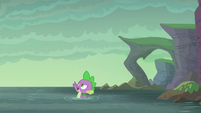 "Spike ""I was planning on swimming anyway!"" S6E5"