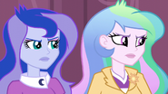Celestia and Luna offended by Cinch's words EG3