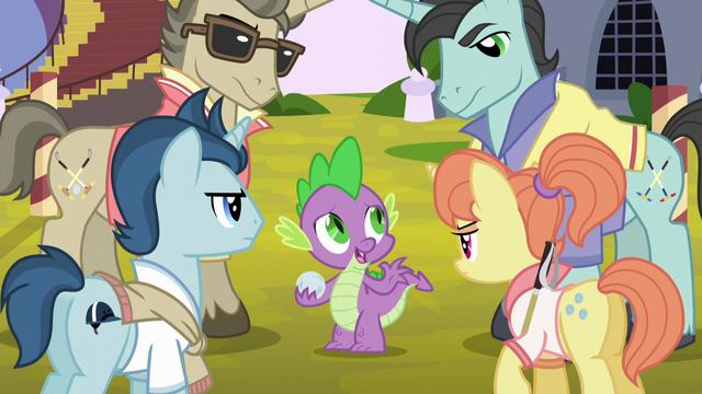File:Polo ponies glaring at Spike S5E10.png