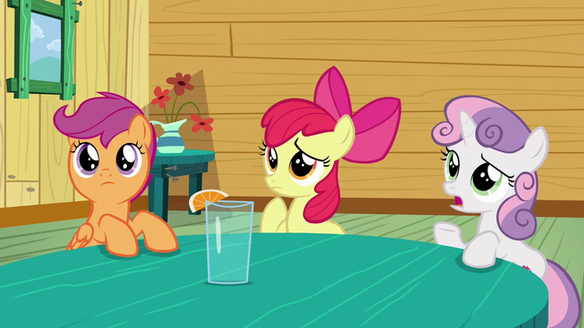 """File:Sweetie Belle """"not exactly"""" S6E19.png"""