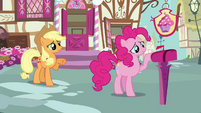 Applejack 'Rainbow Dash hasn't even been gone twenty-four hours yet' S3E07