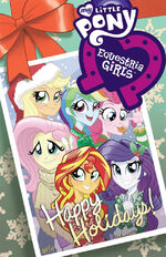 Equestria Girls Holiday Special alt cover A