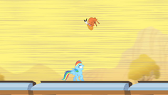 Little Strongheart Jump Over Rainbow Dash S1E21