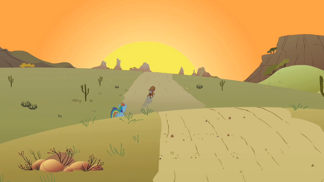 File:Little Strongheart in the distance S1E21.png