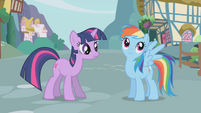 "Rainbow Dash ""maybe"" S1E03"