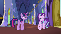 "Starlight Glimmer put off by Twilight's ""advice"" S6E25"