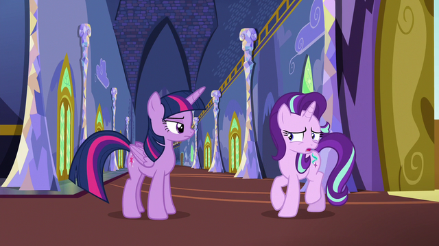 """File:Starlight Glimmer put off by Twilight's """"advice"""" S6E25.png"""