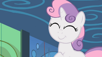 Sweetie Belle grinning S2E06