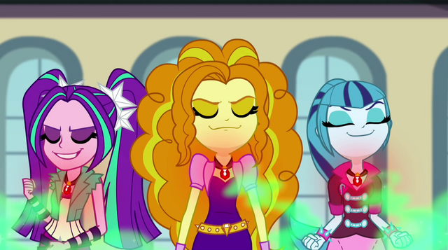 File:Dazzlings absorbing students' negativity EG2.png