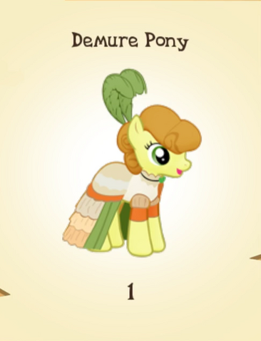 File:Demure Pony MLP Gameloft.png