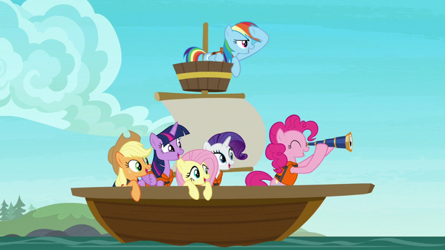 File:Mane Six on a small sailboat S7E2.png