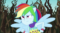 Rainbow Dash determined to save Camp Everfree EG4