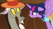 Twilight talking with Discord S5E7
