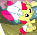 Apple Bloom infant ID S2E23