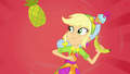 Applejack with a banana and pineapple SS9.png
