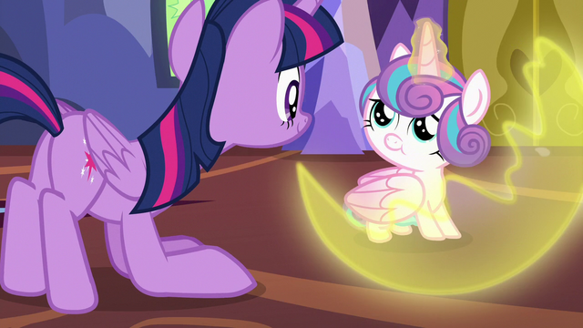 File:Flurry Heart dispersing her magic barrier S7E3.png