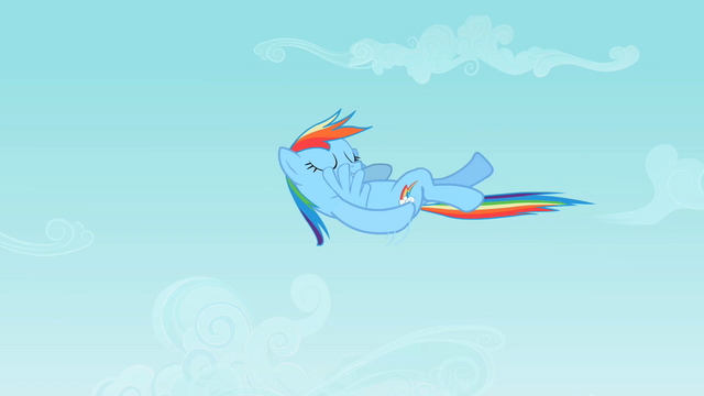File:Rainbow Dash doing a backstroke in midair S2E07.png