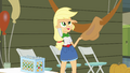 Applejack wiping away sweat EG.png