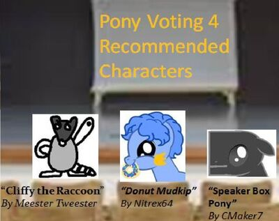 FANMADE Pony Voting 4 RCs