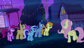 Fluttershy asks the other ponies for help S5E13.png