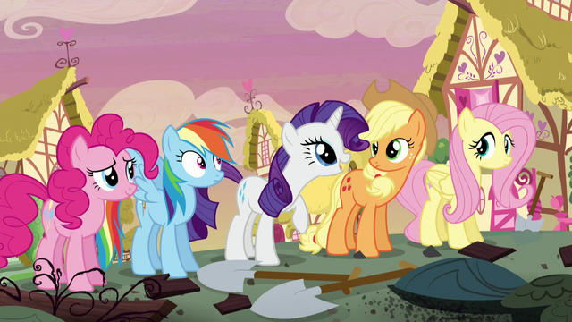 """File:Rarity """"you and Fluttershy stay here"""" S5E3.png"""