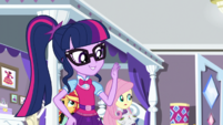 Twilight volunteers to accompany Rarity EGS1