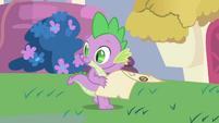 Spike tells Twilight what's next S1E1