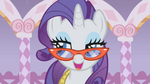 Rarity and her stylish glasses S01E14