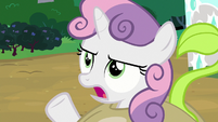 "Sweetie Belle ""that's not who I am anymore!"" S7E6"