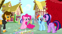 "Twilight ""what about you, Pinkie Pie?"" S4E12"